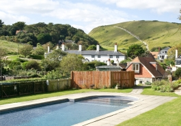 Lulworth B&B with swimming pool