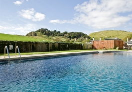 Lulworth holiday accommodation with pool